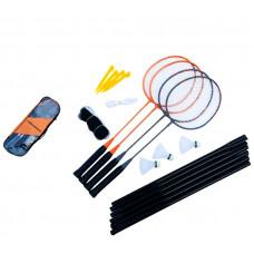 ULTRASPORT Klasik 4 Badminton szett + háló Előnézet