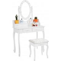 Fésülködő asztal székkel megvilágítással  Aga MRDT03