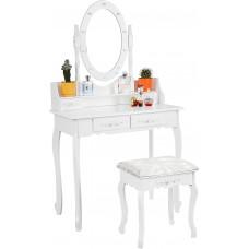 Fésülködő asztal székkel megvilágítással  Aga MRDT03 Előnézet