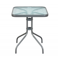 Kerti asztal Aga MR4351LGY 60x60x70 cm