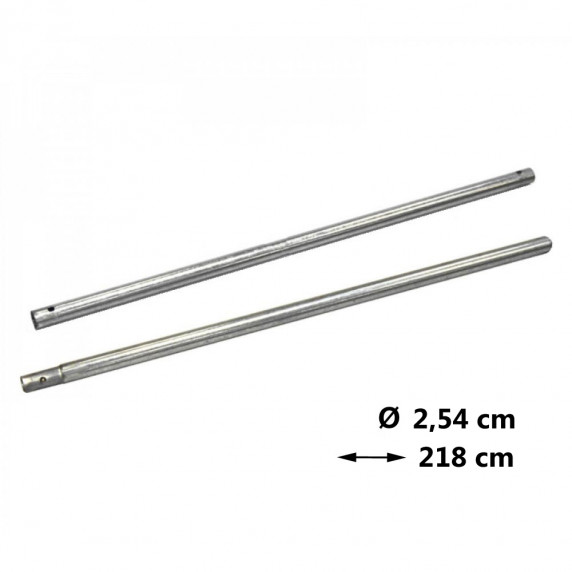 Védőháló tartóoszlop Ø 2,54 cm - hossz 218 cm