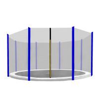 AGA védőháló 366 cm átmérőjű trambulinhoz 8 rudas - Kék