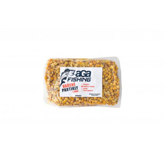 Főtt kukorica horgászathoz 1,8 kg AGA Fishing - eper ízesítésű
