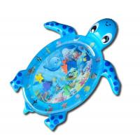 Gyerek felfújható alátét Aga4Kids MRWM05 - teknős kék