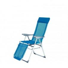 AGA 5-WAY RELAX Turquoise napozószék Előnézet