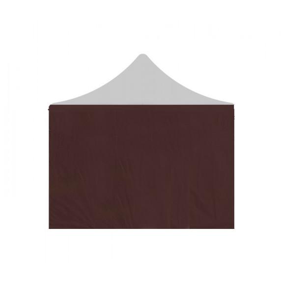 AGA Oldalfal kerti sátorhoz POP UP 3x4,5 m - Barna