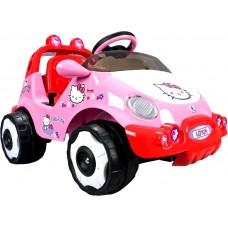Injusa  RACING CAR HELLO KITTY 6V elektromos kisautó Előnézet
