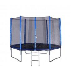 SPARTAN 244 cm trambulin szuper szett védőhálóval + létra  Előnézet