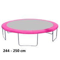Aga rugótakaró 250 cm átmérőjű trambulinhoz - Rózsaszín