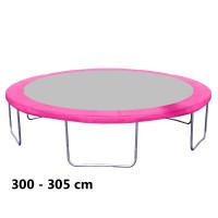 Aga rugótakaró 305 cm átmérőjű trambulinhoz - Rózsaszín
