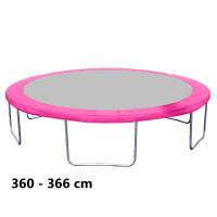 Aga rugótakaró 366 cm átmérőjű trambulinhoz - Rózsaszín