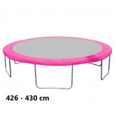 Aga rugótakaró 430 cm átmérőjű trambulinhoz - Rózsaszín Előnézet