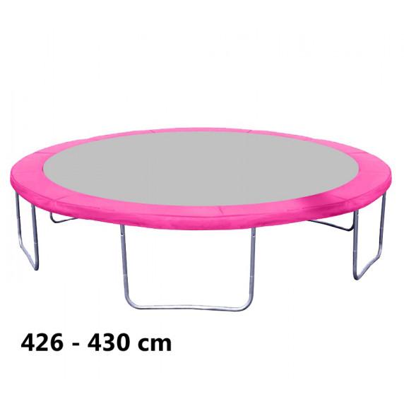 Rugótakaró 430 cm átmérőjű trambulinhoz AGA - Rózsaszín