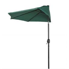 AGA félkör napernyő CLASSIC 270 cm - sötétzöld Előnézet