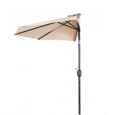 AGA félkör napernyő CLASSIC 270 cm - bézs Előnézet