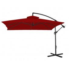 AGA EXCLUSIV CUBE 250 cm függő napernyő - sötétpiros Előnézet