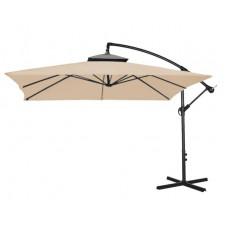 AGA EXCLUSIV CUBE 250 cm függő napernyő - kávébarna Előnézet