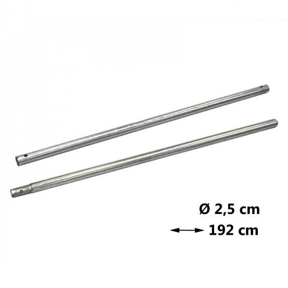 AGA védőháló tartóoszlop Ø 2,5 cm - hossz 192 cm