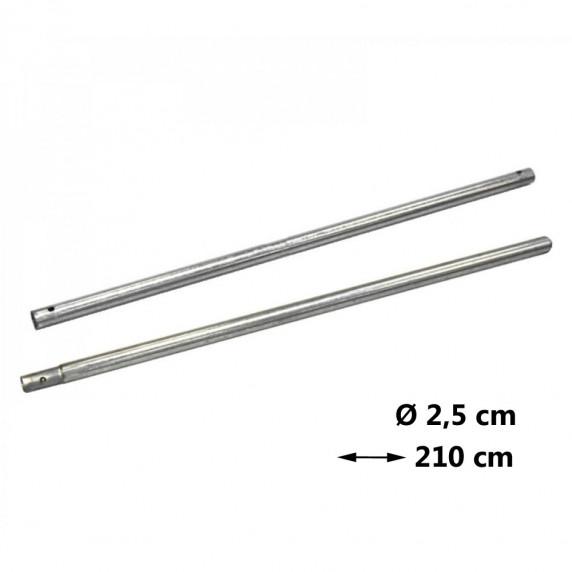 AGA védőháló tartóoszlop Ø 2,5 cm - hossz 210 cm
