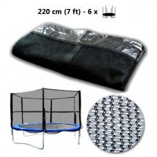 AGA védőháló 220 cm átmérőjű trambulinhoz 6 rudas Előnézet