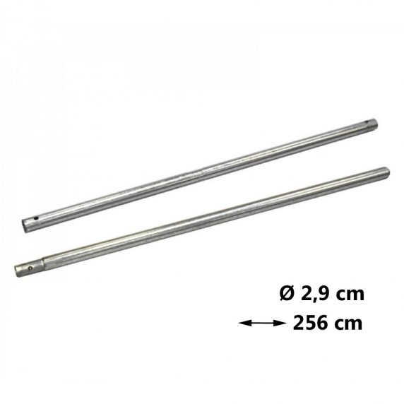 AGA védőháló tartóoszlop Ø 2,9 cm - hossz 256 cm