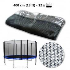 AGA védőháló 400 cm átmérőjű trambulinhoz 12 rudas  Előnézet