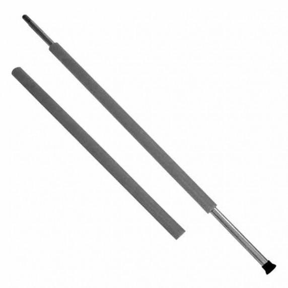 Habszivacs védő tartóoszlopra AGA MIRELON 70 cm - Fekete