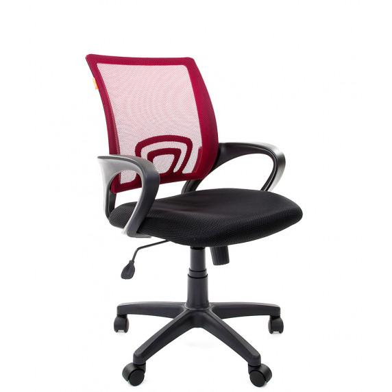 Chairman 696-B modern forgószék karfával-sötét piros