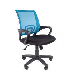 Chairman 696-B modern forgószék karfával-kék Előnézet