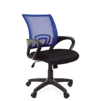 Chairman 696-B modern forgószék karfával-sötét kék