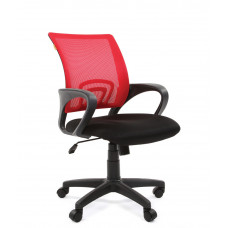 Chairman 696-B modern forgószék karfával-piros Előnézet