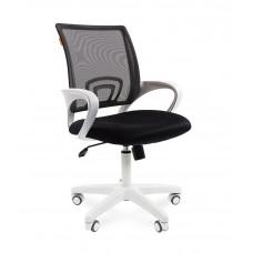 Chairman 696 modern irodai forgószék fehér vázzal-szürke Előnézet