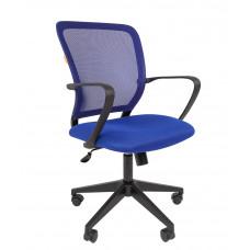 Chairman 698 karfás irodai forgószék -kék Előnézet