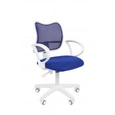 Chairman irodai forgószék 450 LT - Fehér/kék Előnézet