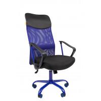 Chairman irodai forgószék karfával 610CMet - Kék