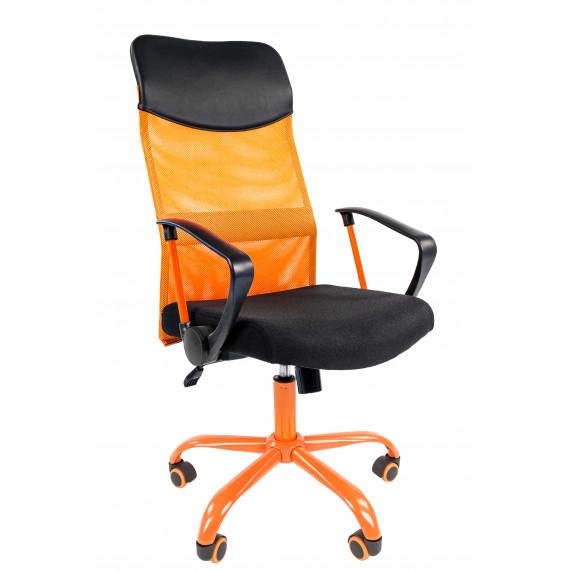 Chairman irodai forgószék karfával 610CMet - Narancssárga