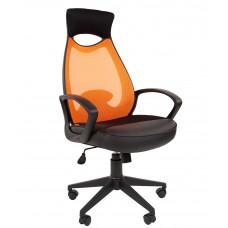 Chairman 840-B modern forgószék fejtámlával -narancssárga Előnézet