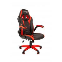 Chairman gamer szék GAME -15 - Fekete/piros