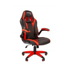 Chairman gamer szék GAME -15 - Fekete/piros Előnézet