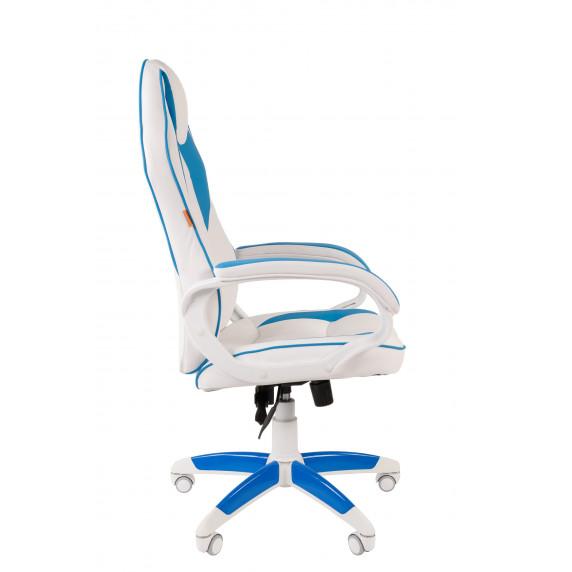 Chairman gamer szék GAME -16 - Fehér/kék