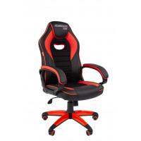 Chairman gamer szék GAME -16 - Fekete/piros
