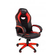 Chairman gamer szék GAME -16 - Fekete/piros Előnézet