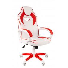 Chairman gamer szék 7030050 - Fehér/piros Előnézet