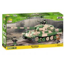 COBI 2480A SMALL ARMY SD.KFZ 182 Königstiger Páncélozott jármű tank Előnézet