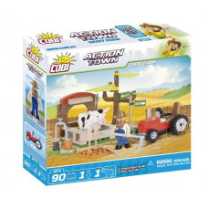 COBI 1873 Action Town Farm - Traktor és tehén Előnézet