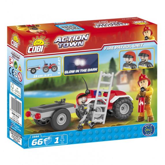 COBI 1444 Action Town Tűzoltó Quad