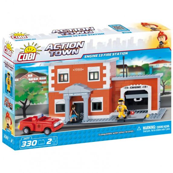 COBI 1477 Action Town Tűzoltó állomás