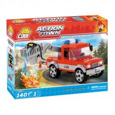 COBI 1479 Action Town Tűzoltóautó emelőkosárral Előnézet