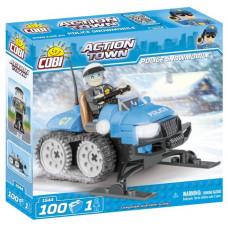 COBI 1544 Action Town Rendőrségi motorosszán Előnézet