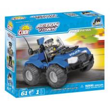 COBI 1547 Action Town Rendőr járőr ATV Előnézet